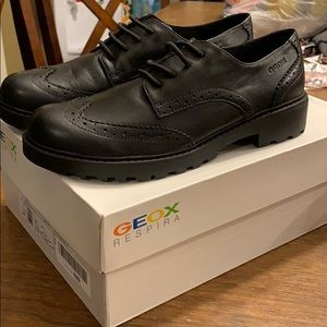 """Shoes - Geox leather lace-up """"Casey"""" shoe"""